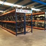 Almacém de motores y cajas de cambios